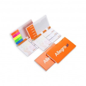 Adhesive note pads with pen (pencil) 85x150 mm