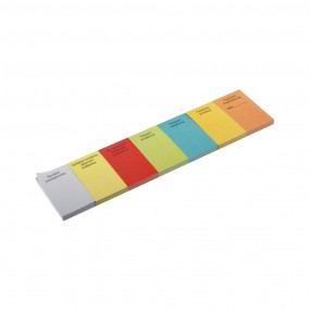 Self-adhesive markers 83x60 mm