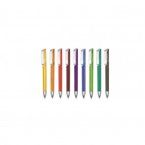 Plastic pen Glossy Transparent