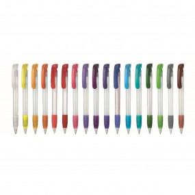 Plastic pen Soft Clear Frozen