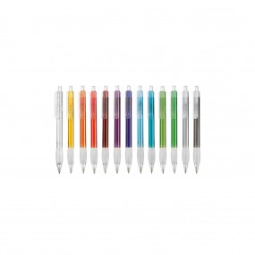 Plastic pen Diva Transparent