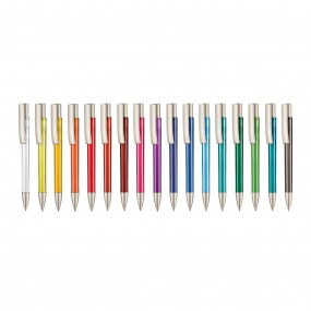 Plastic pen Stratos Transparent PL