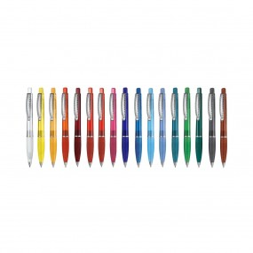 Plastic pen Club Transparent SI
