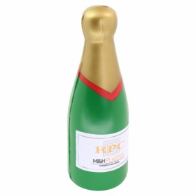 Stress Champagne Bottle