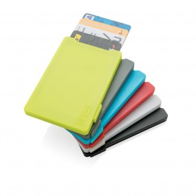 Multiple cardholder with RFID anti-skimming