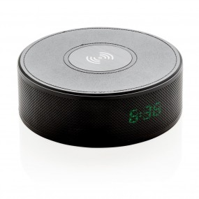 Wireless 5W charging alarm clock speaker