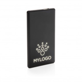 Light up logo powerbank 4000 mAh