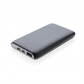 4.000 mAh light up logo wireless powerbank