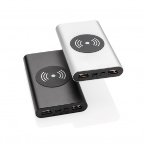 Aluminium 10.000 mAh 5W Wireless Powerbank