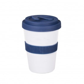 Coffee 2 go lock ® porcelāna krūze