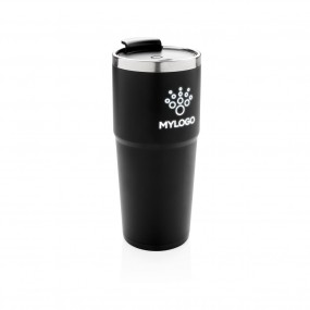 Light up logo tumbler