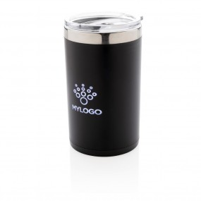 Light up logo coffee mug