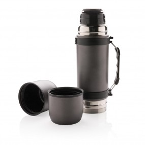 Swiss Peak vacuum flask with 2 cups